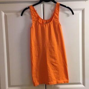 bar III Orange tank top/undershirt